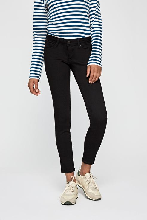 Джинсы женские Pepe Jeans PL201073WE80 черные 30/30 UK