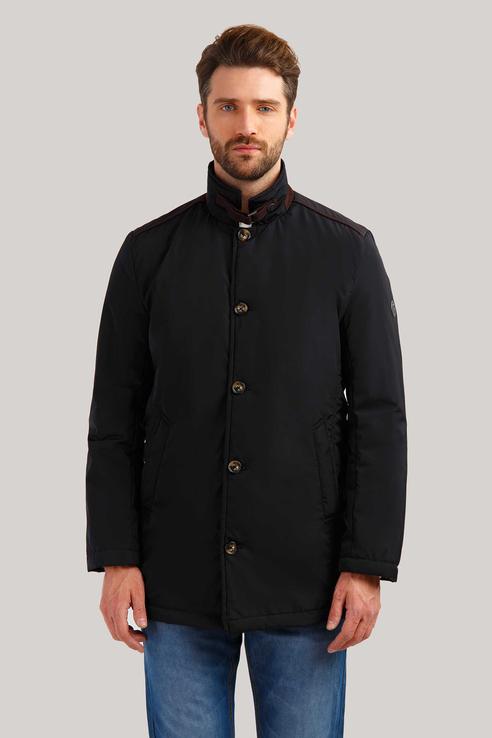 Куртка мужская Finn Flare B19-21012 черная XL фото