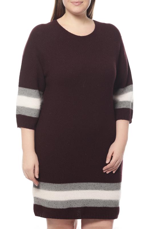 Платье женское LORENA ANTONIAZZI LP3453X1/2607 красное 42 IT
