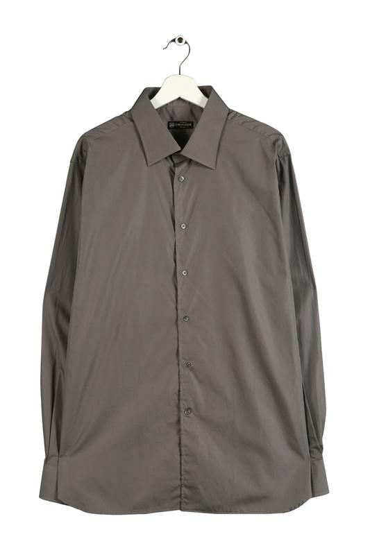Рубашка мужская Corneliani 11044 серая 46 IT
