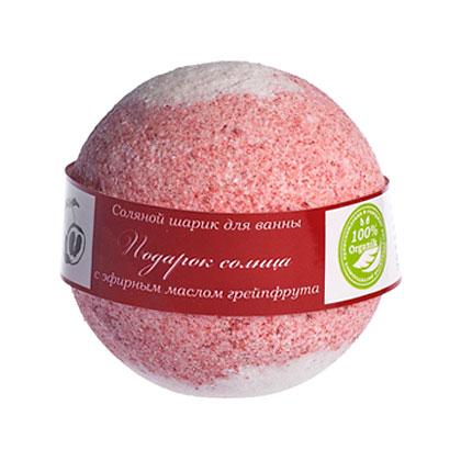Шарик для ванн соляной SAVONRY «Grapefruit» (грейпфрут),