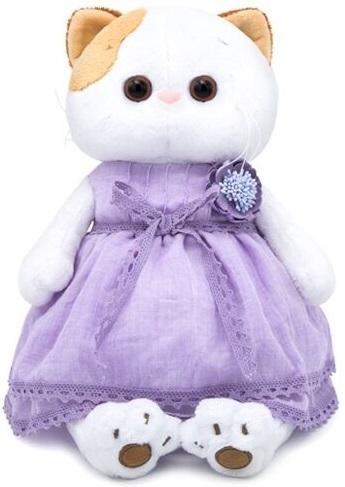 Купить Мягкая игрушка BUDI BASA Кошка Ли-Ли в лавандовом платье 24 см,