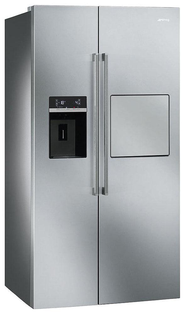 Холодильник Smeg SBS63XEDH Silver фото