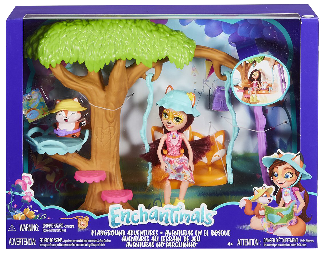 Купить Игровой набор Enchantimals FRH45, Куклы