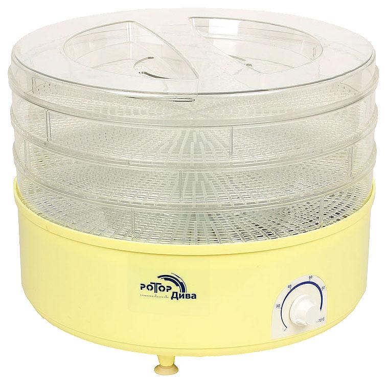Сушилка для овощей и фруктов Ротор СШ-007-04 yellow