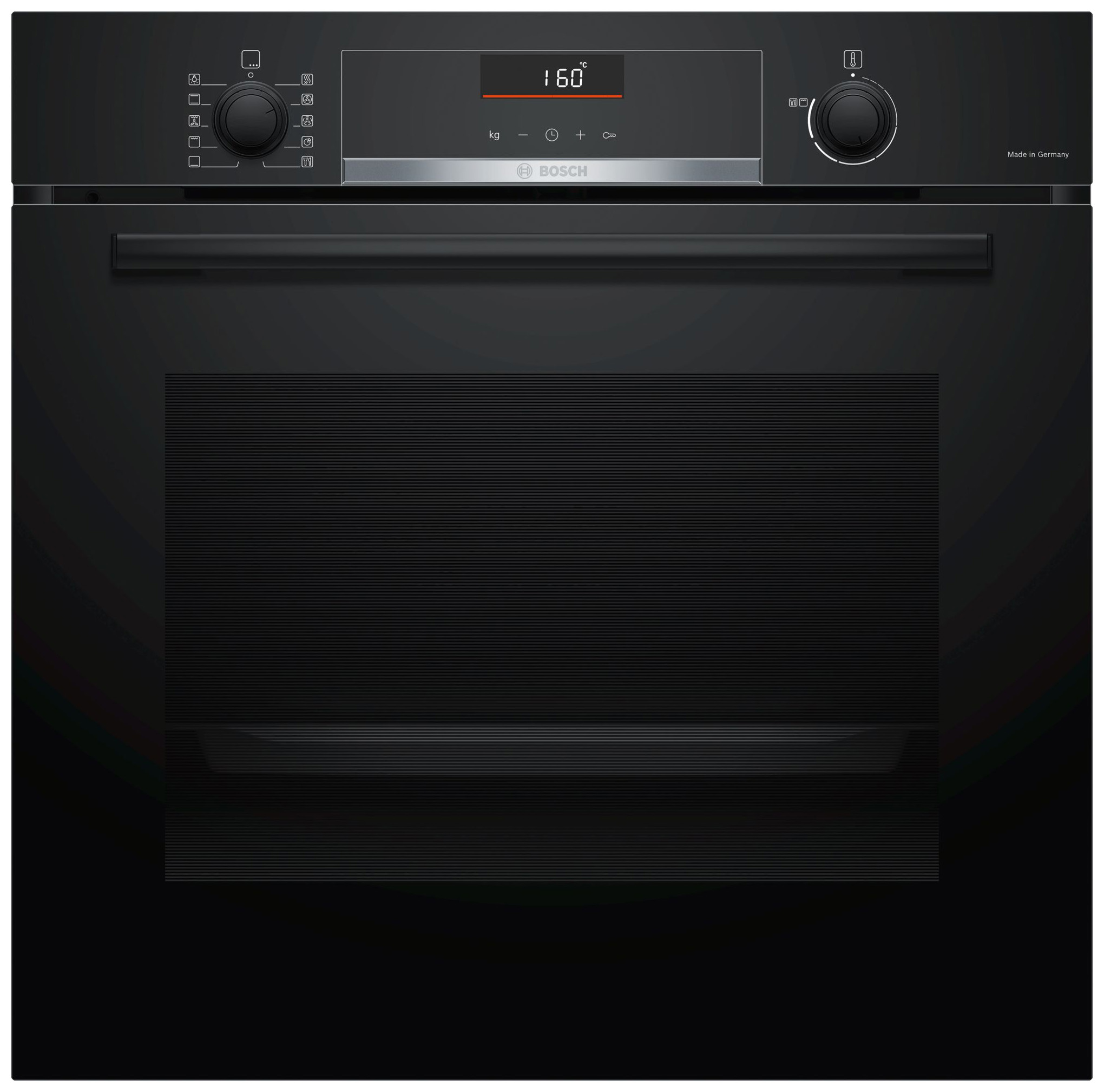 Встраиваемый электрический духовой шкаф Bosch HBG5360B0R Black