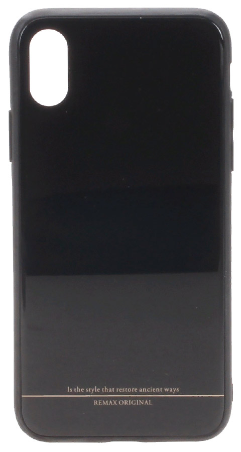 Чехол Remax Yarose Black Apple iPhone X