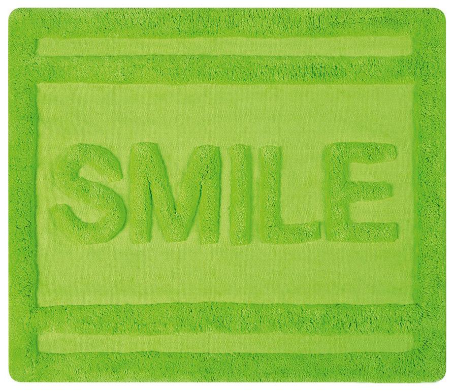 Коврик для ванной Spirella Smile Зеленый