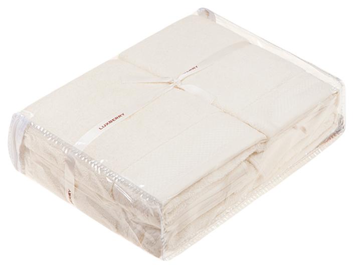 Банное полотенце, полотенце универсальное Luxberry белый