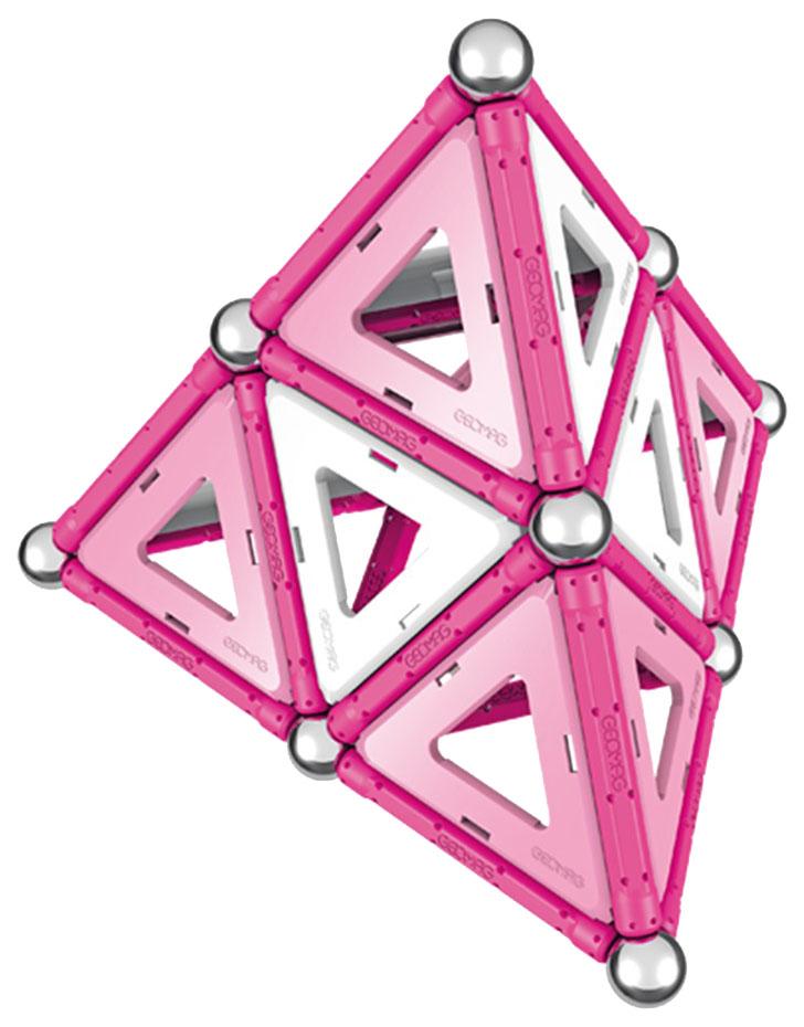 Купить Конструктор магнитный GEOMAG Pink 342, Магнитные конструкторы