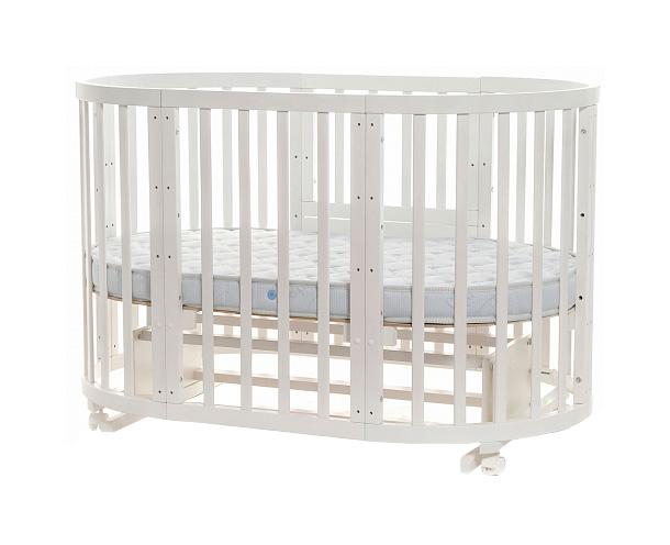 Круглая кроватка-трансформер Noony Cozy фото