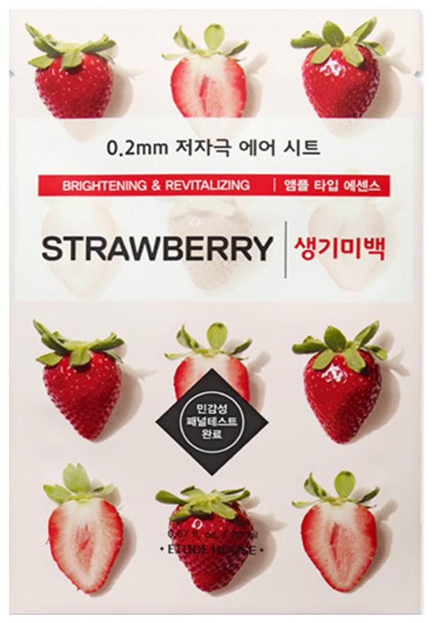 Маска для лица Etude House 0,2 Therapy Air Mask Strawberry 20 мл фото