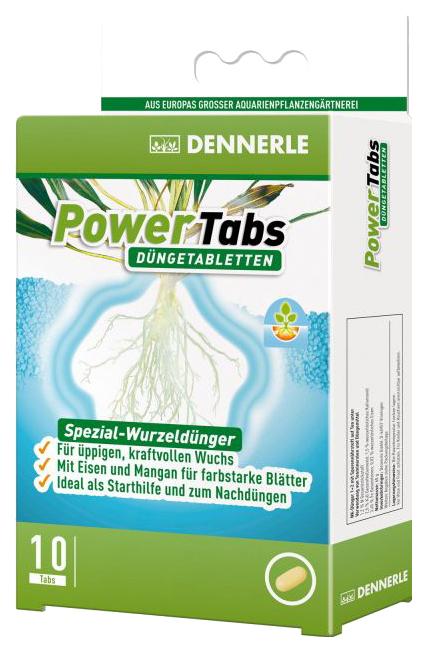 Удобрение для аквариумных растений Dennerle Power Tabs