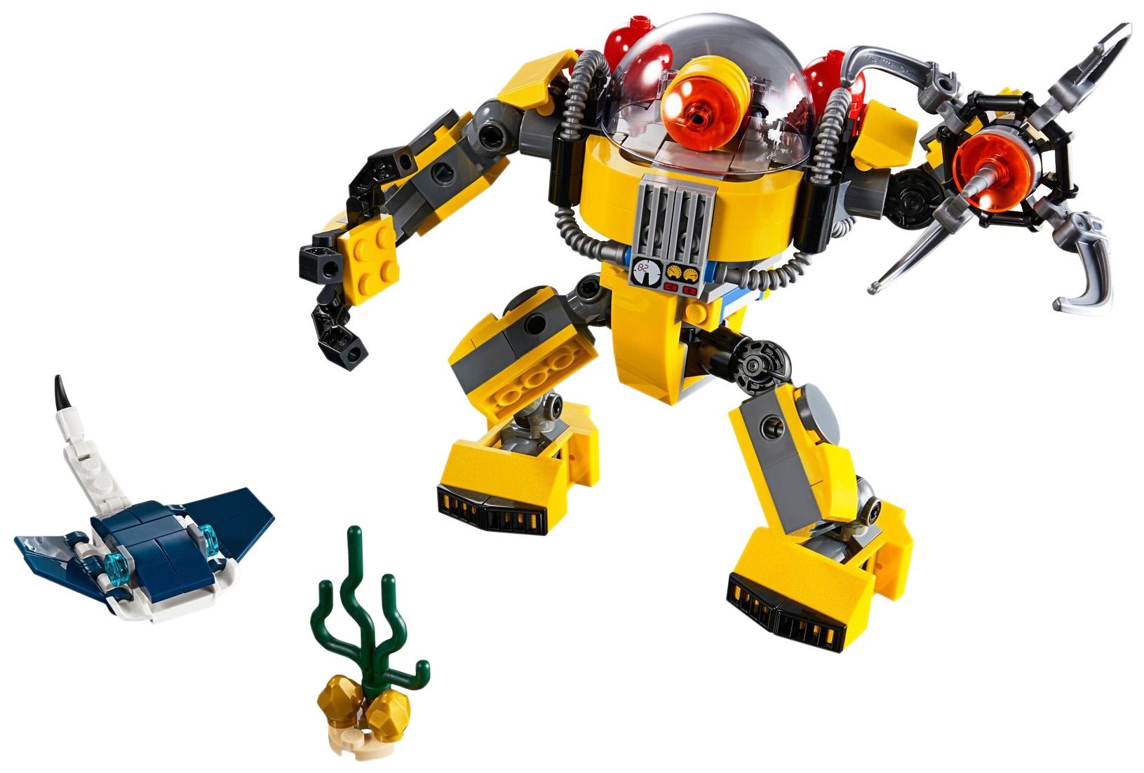 Конструктор LEGO Creator 31090 Робот для подводных