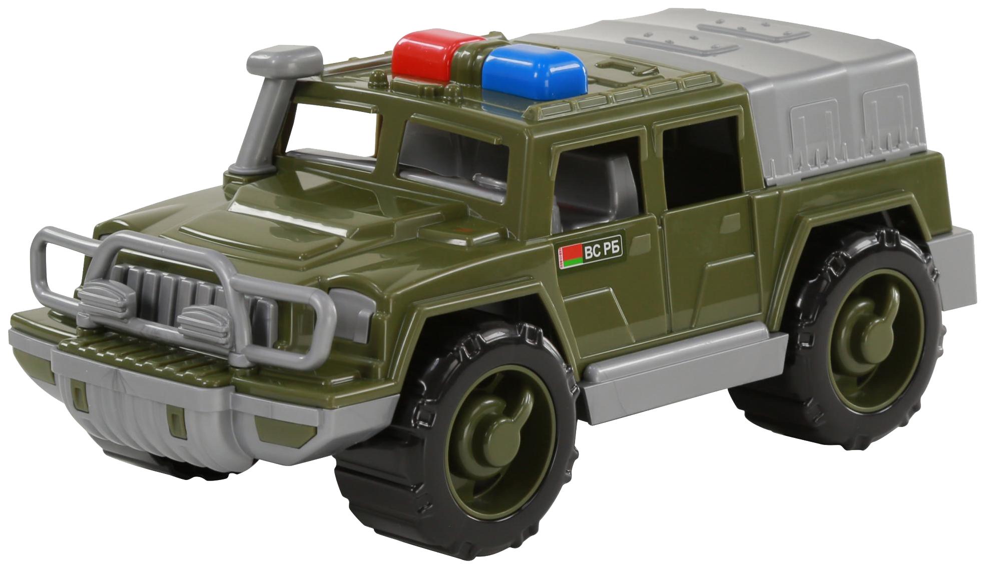 Купить Игрушки, Автомобиль-джип Полесье военный патрульный Защитник №1, Игрушечные машинки