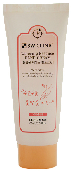 Крем для рук 3W Clinic Watering Essence Hand Cream 80 мл