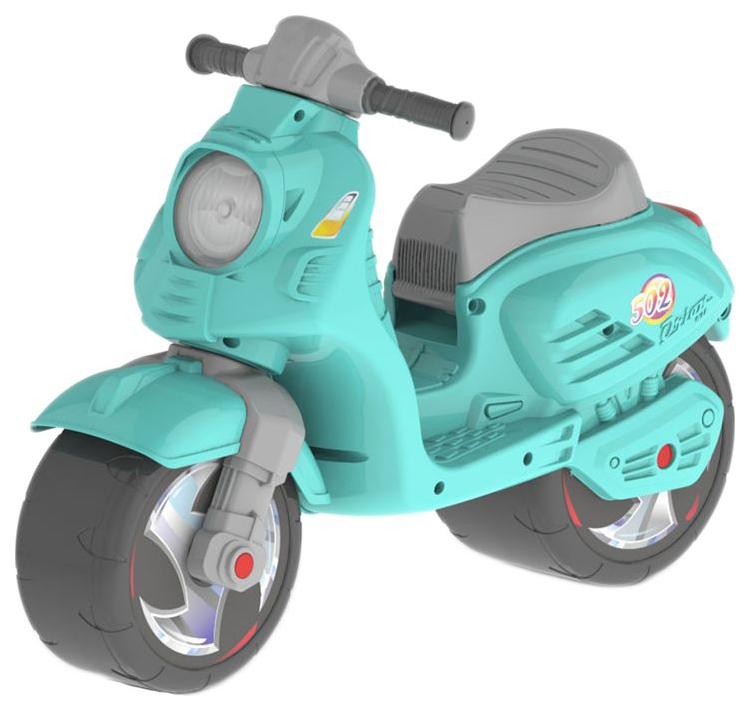 Каталка детская Orion Машинка Мотоцикл бирюзовый