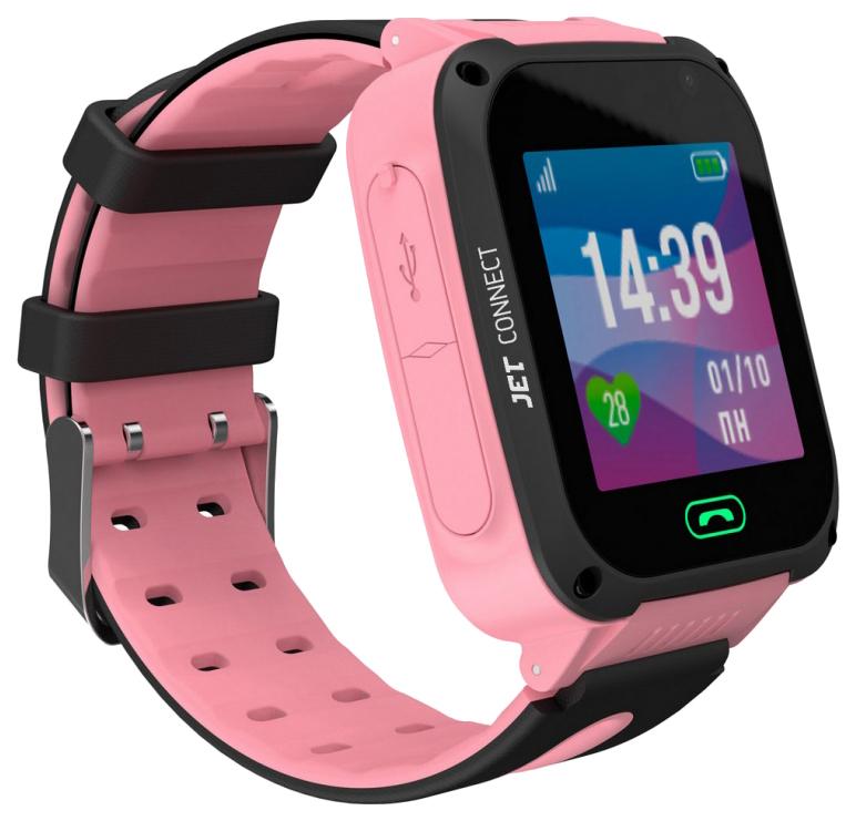 Детские смарт часы Jet Kid Connect Pink/Pink