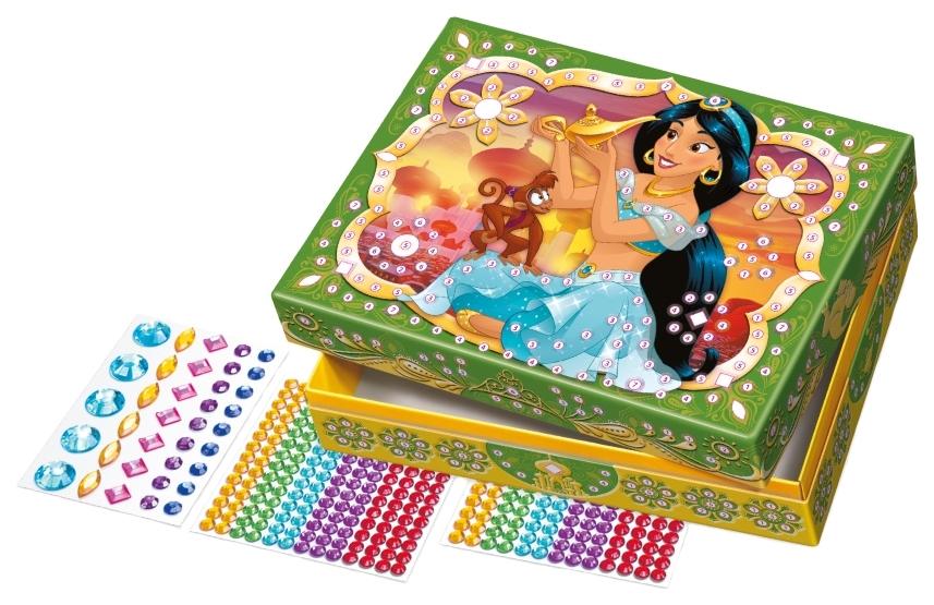 Купить Поделка Десятое Королевство Шкатулка со стразами Принцессы Диснея Жасмин, Рукоделие