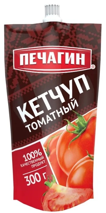 Кетчуп Печагин томатный 300 г фото