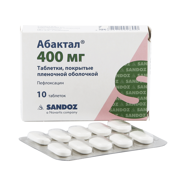 Абактал Lek d. d. таблетки 400 мг 10 шт.