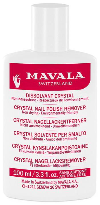 Жидкость для снятия лака Mavala Сrystal
