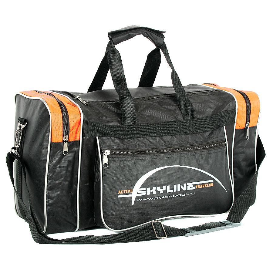 Спортивная сумка Polar Джонсон Нейлон оранжевая