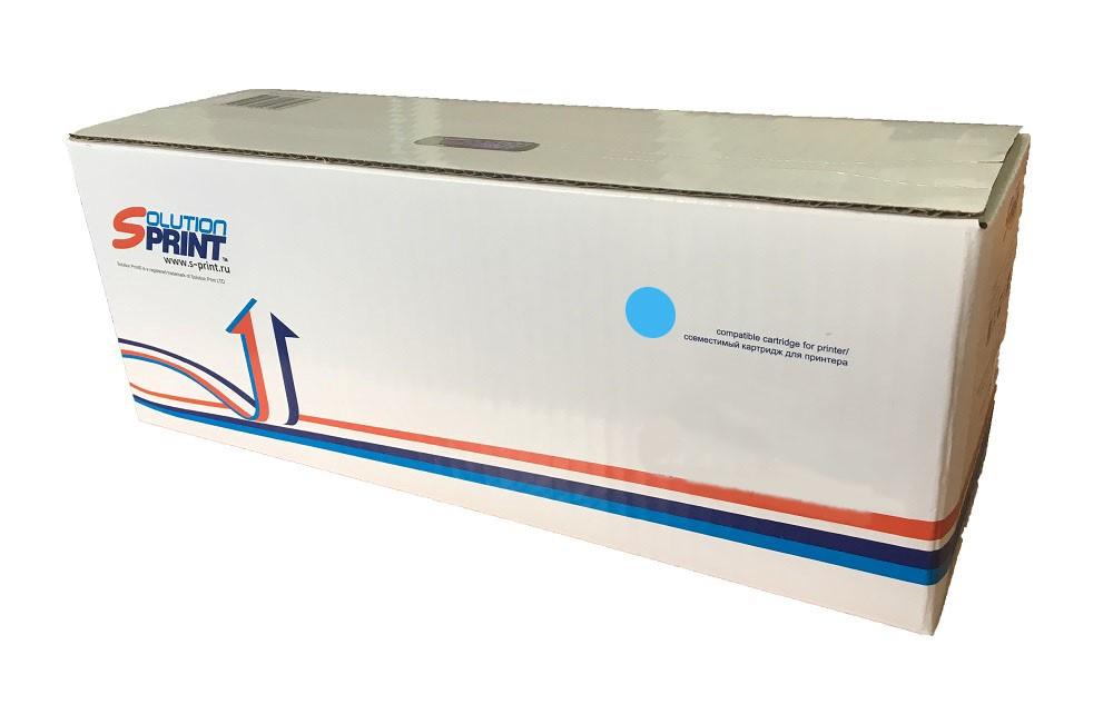 Картридж для лазерного принтера Kyocera SP-K-TK5160C аналог Kyocera TK-5160C, голубой фото