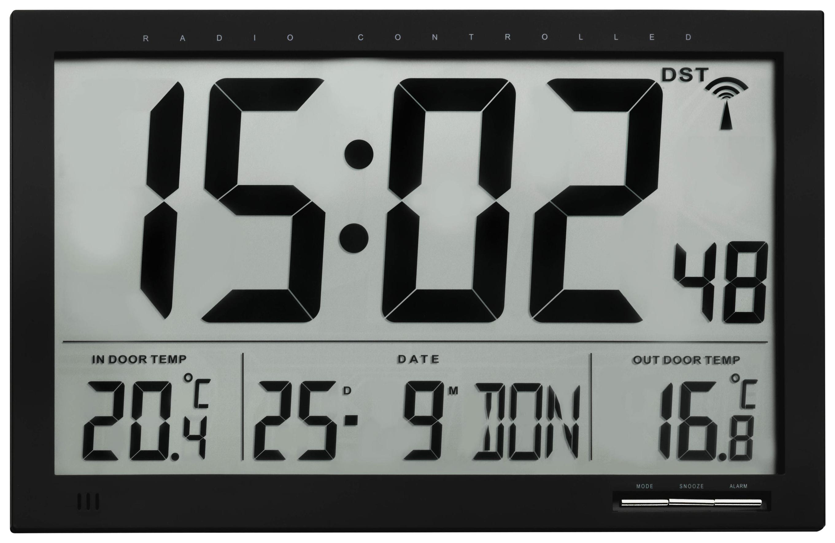 Цифровые часы с термометром TFA XL 60.4510.01