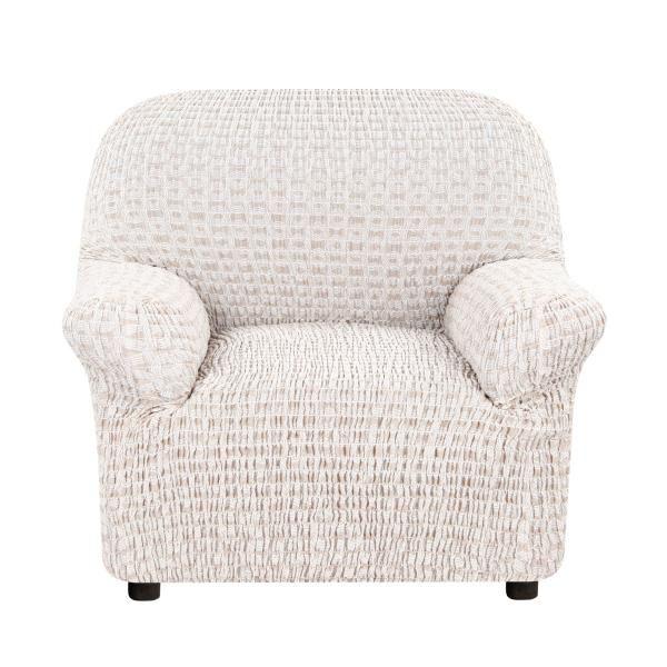 Чехол на кресло Еврочехол Сиена Сатурно бежевый