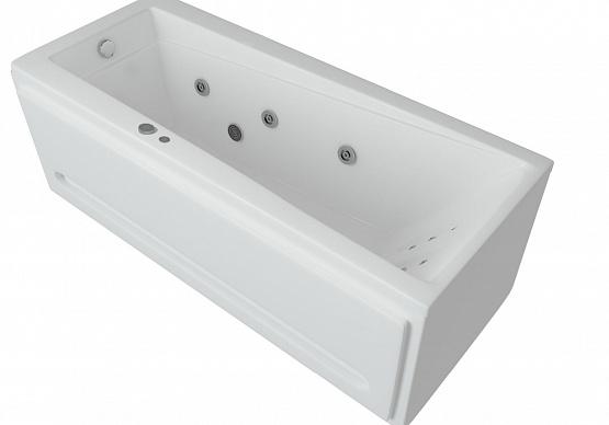 Акриловая ванна Aquatek Либра-170 LIB170-0000029 с гидромассажем
