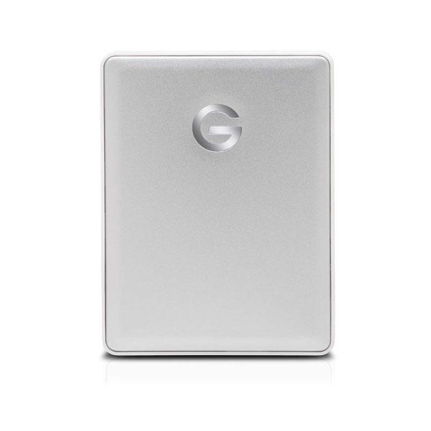 Внешний диск HDD G-Technology Drive Mobile 2TB Silver (0G10339)