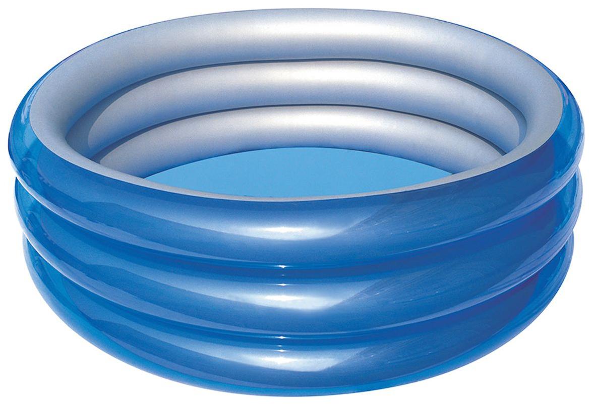 Купить Бассейн детский Bestway Металлик 51042 от 6 лет, 170х53 см, Детские бассейны
