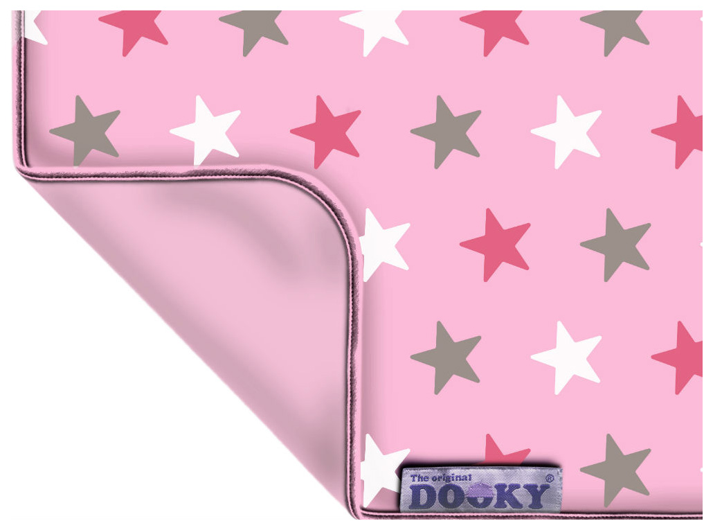 Плед детский dooky baby pink star