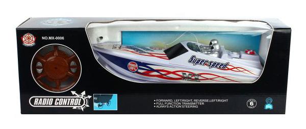 Купить Радиоуправляемый катер Shantou Gepai 4 канала MX-0006-4, Радиоуправляемые катера