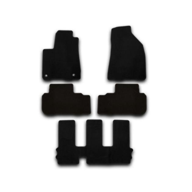 Коврики в салон Klever Standard для TOYOTA Highlander 2010-2013, 5 шт. текстиль