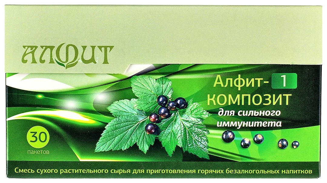 Фитосбор Алфит-1 Композит Для сильного иммунитета, 30 ф/п х 2 г, Фитосбор Алфит-1 композит для сильного иммунитета 30 ф/п х 2 г  - купить со скидкой