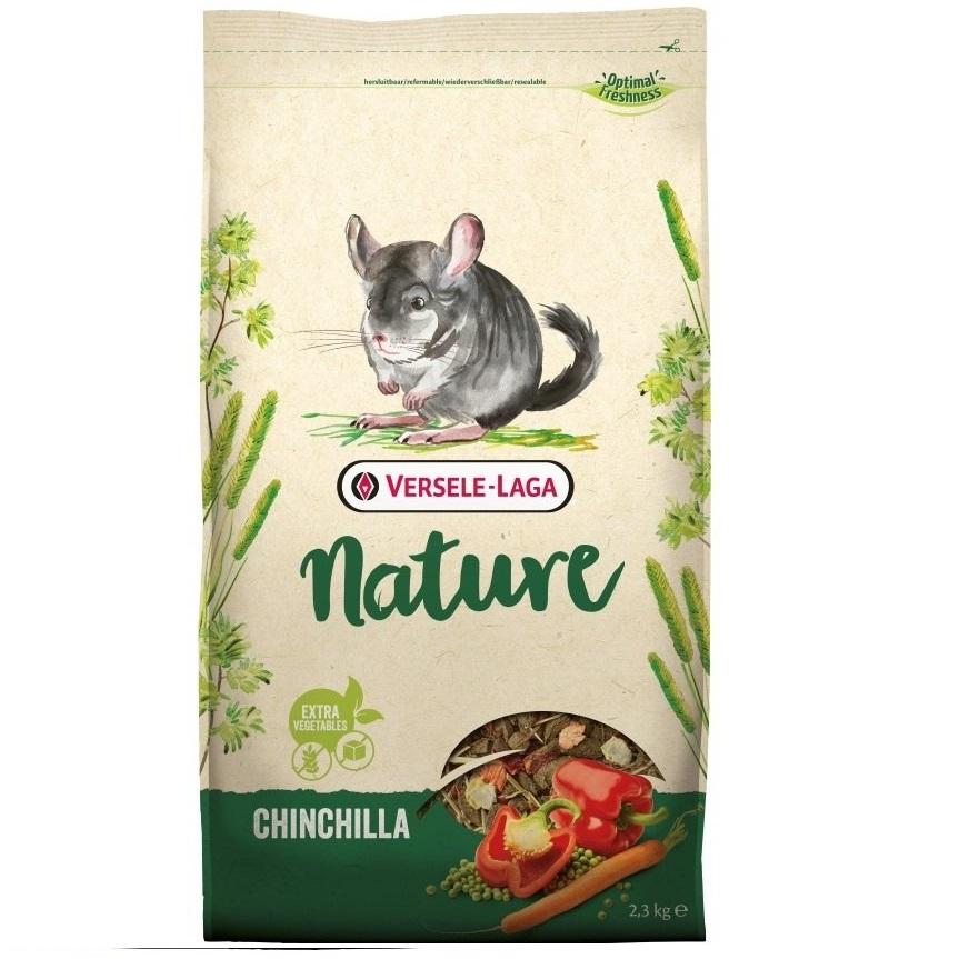 Корм для шиншилл Versele-Laga Nature Chinchilla, 2,3 кг