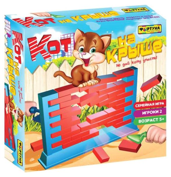 Купить Семейная настольная игра Фортуна Кот на крыше Ф71778, Семейные настольные игры