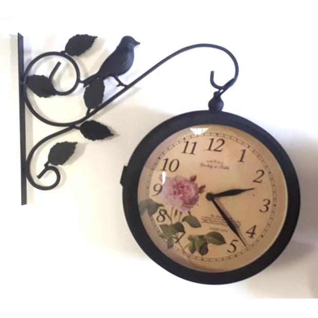 Часы Репка садовые двусторонние 2018003-20