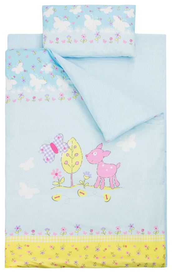ЗОЛОТОЙ ГУСЬ Комплект постельного белья Little friend (цвет: голубой) 2062