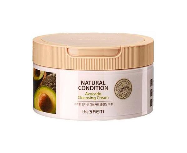 Купить Средство для снятия макияжа The Saem Natural Condition Avocado Cleansing Cream 300 мл