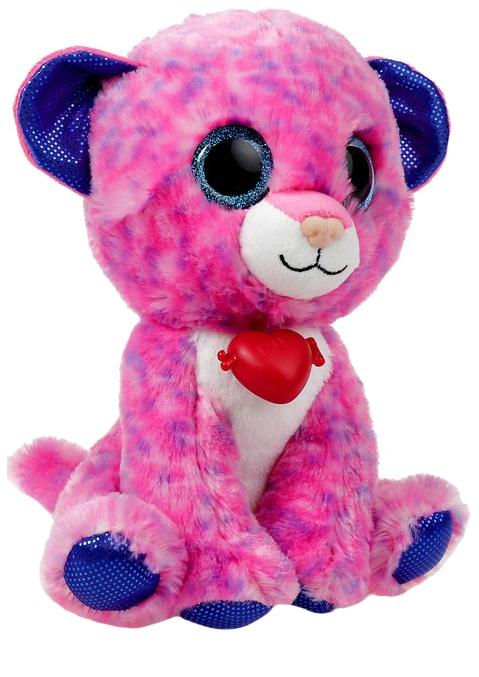 Купить Мягкая игрушка Fancy Глазастик: Леопард 22 см, Мягкие игрушки животные