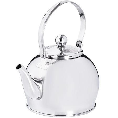 Заварочный чайник глянцевый 1 литр MB (х24) 29000