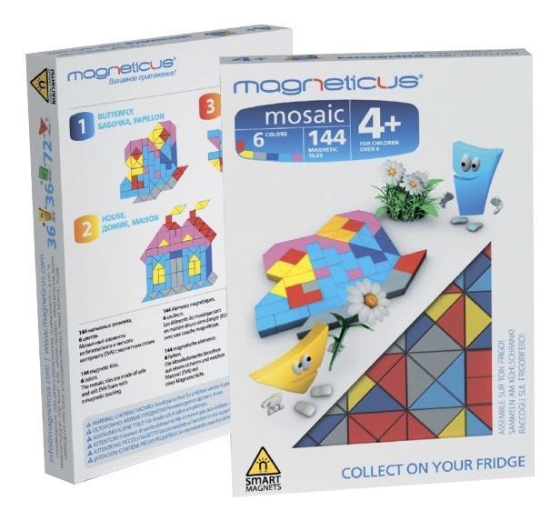 Купить Магнитная мини-мозаика Бабочка , 6 цветов, МиниМозаика Magneticus Бабочка, Мозаики