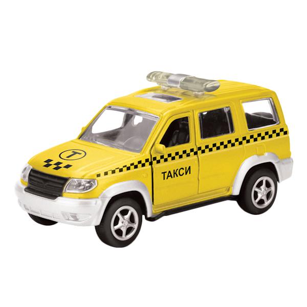 Купить Уаз патриот, Машина Технопарк инерционная, металлическая уаз патриот такси 6403b,