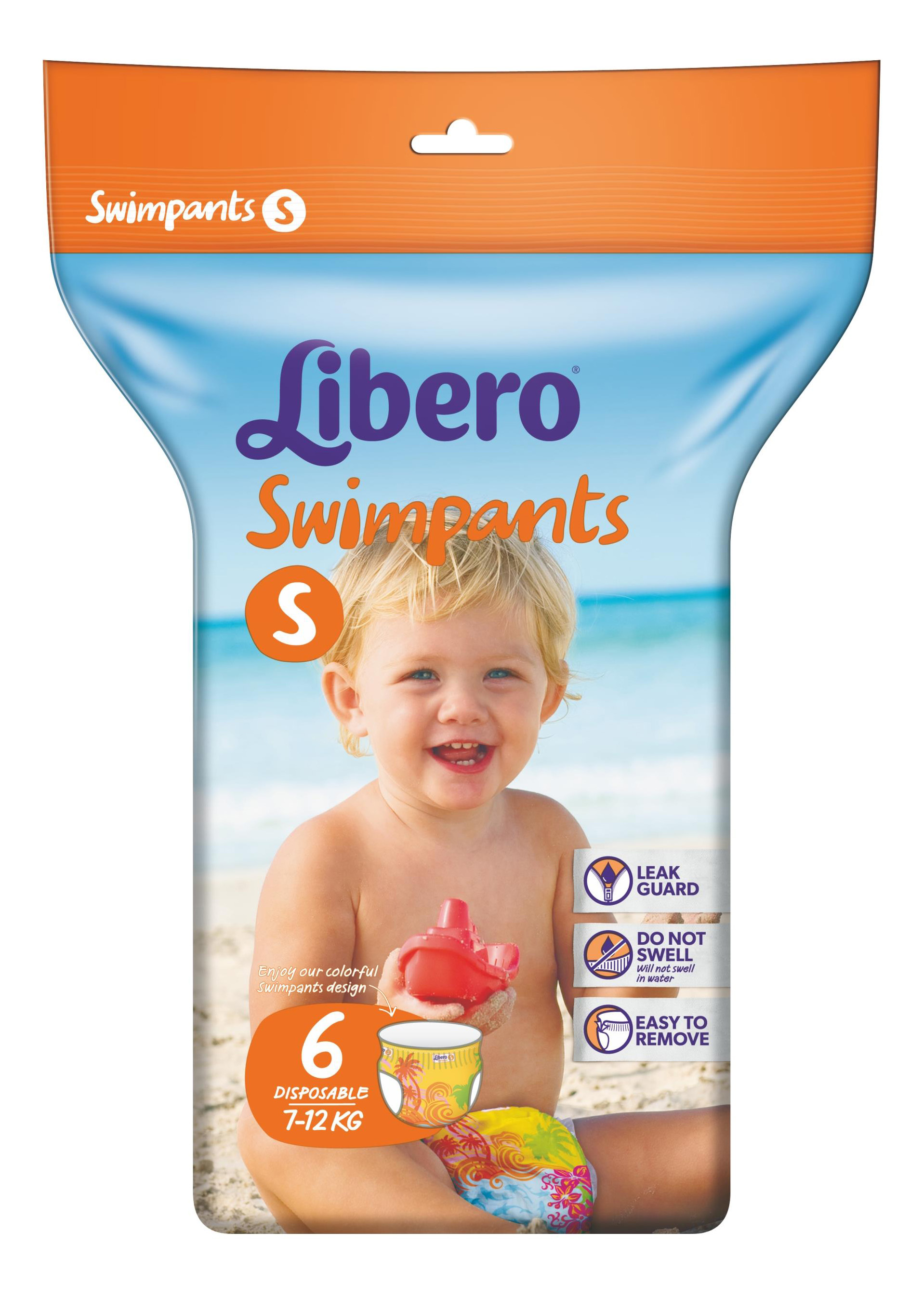 Трусики для плавания Libero Swimpants Small