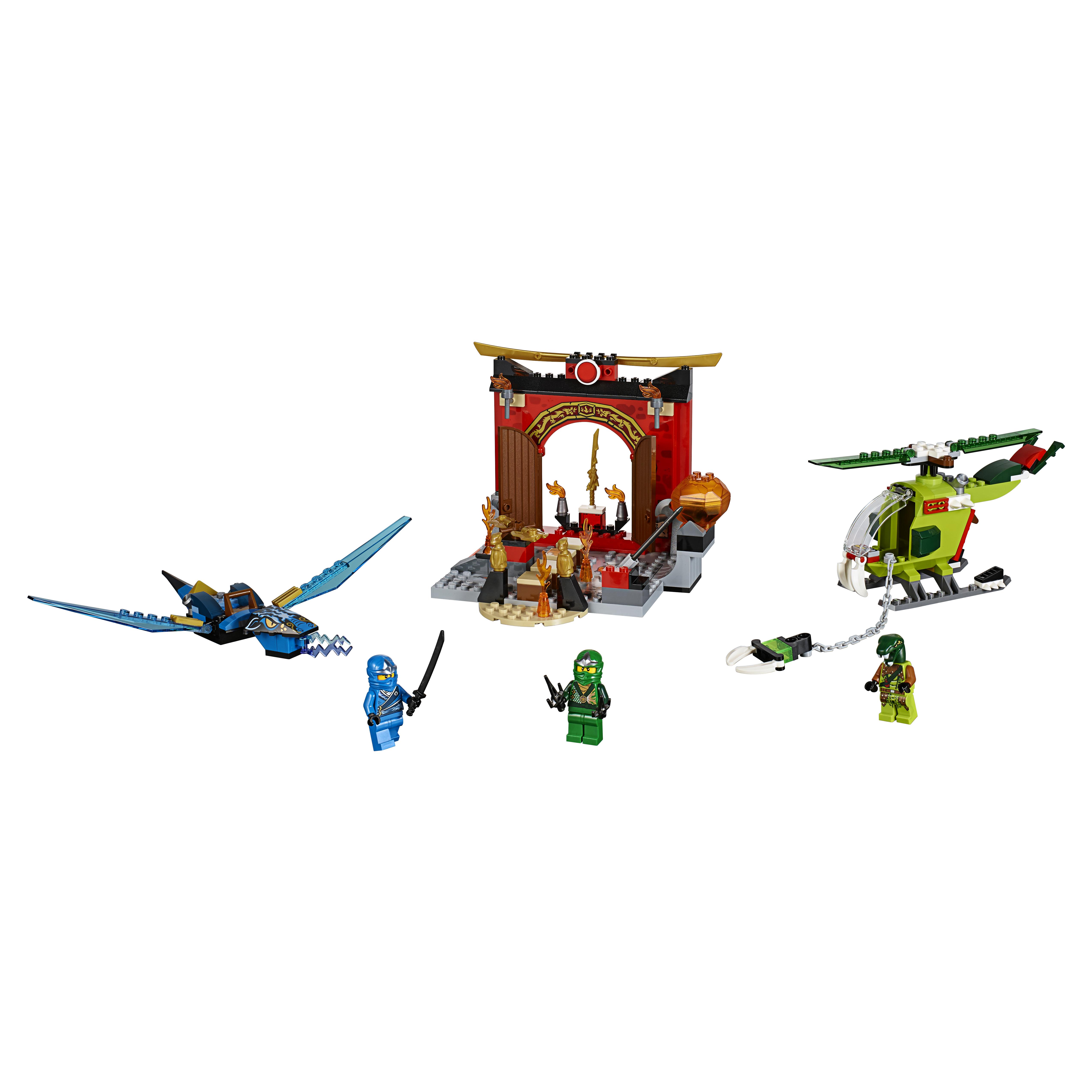 Конструктор LEGO Juniors Затерянный храм (10725) Конструктор LEGO Juniors Затерянный храм (10725)