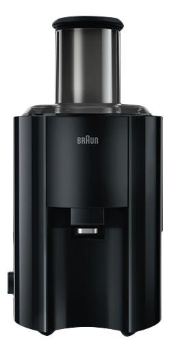 Соковыжималка центробежная Braun J300 black