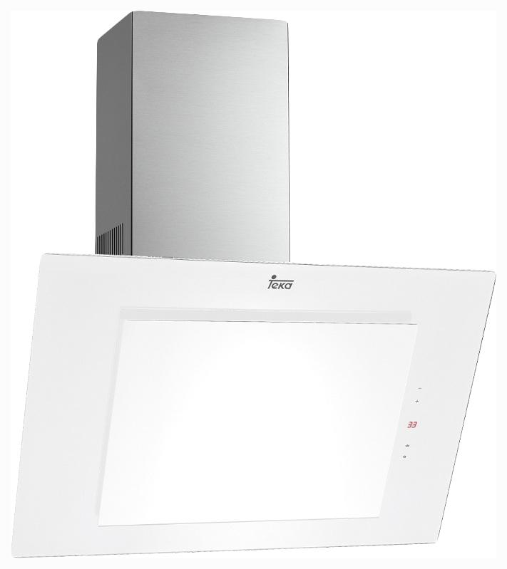 Вытяжка наклонная TEKA DVT 680 W Silver/White